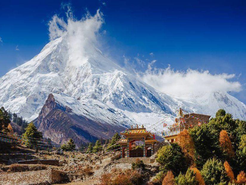8- Manaslu Dağı