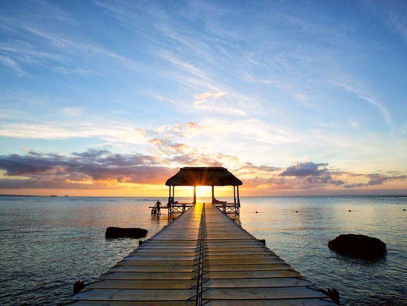 Mauritius Adası Sahili
