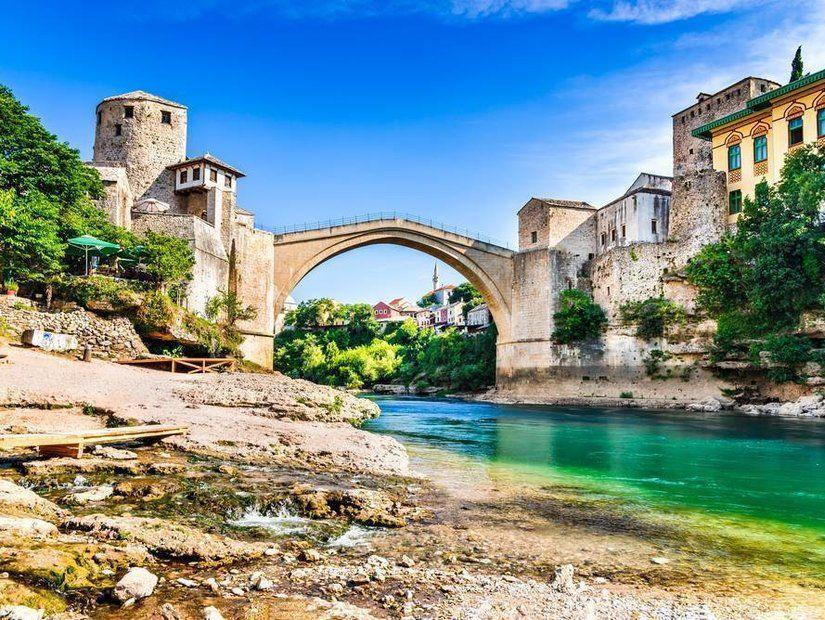 2- Mostar Poçitel Jablanica (Bosna Hersek)