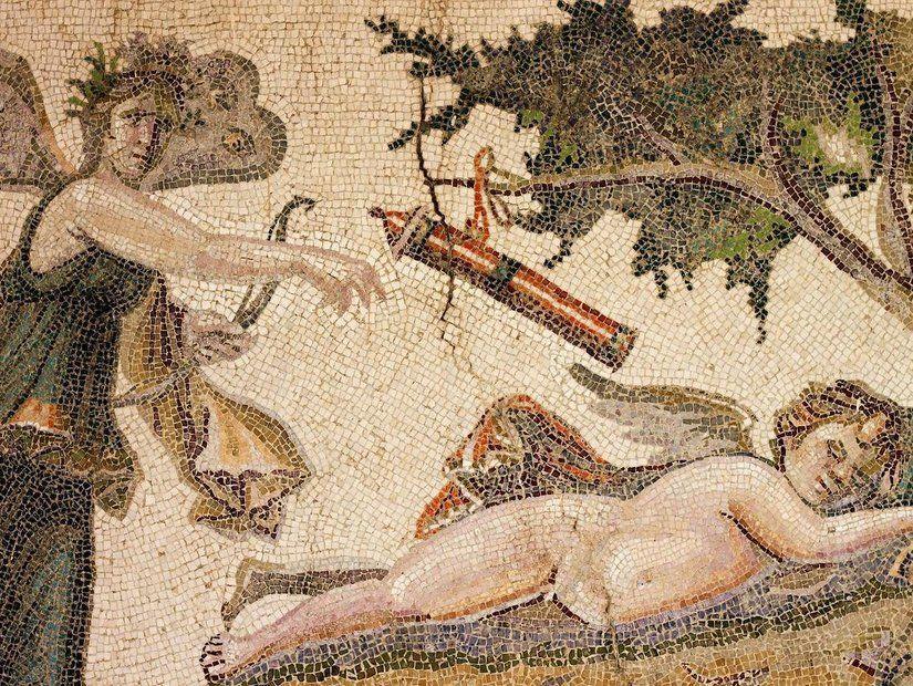1- Geçmişi günümüze taşıyan mozaikler