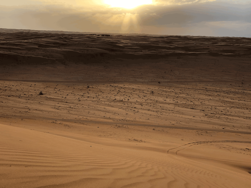 Sessiz ve etkileyici çöl turu