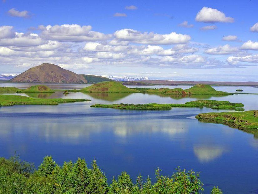 2- Myvatn Gölü, İzlanda