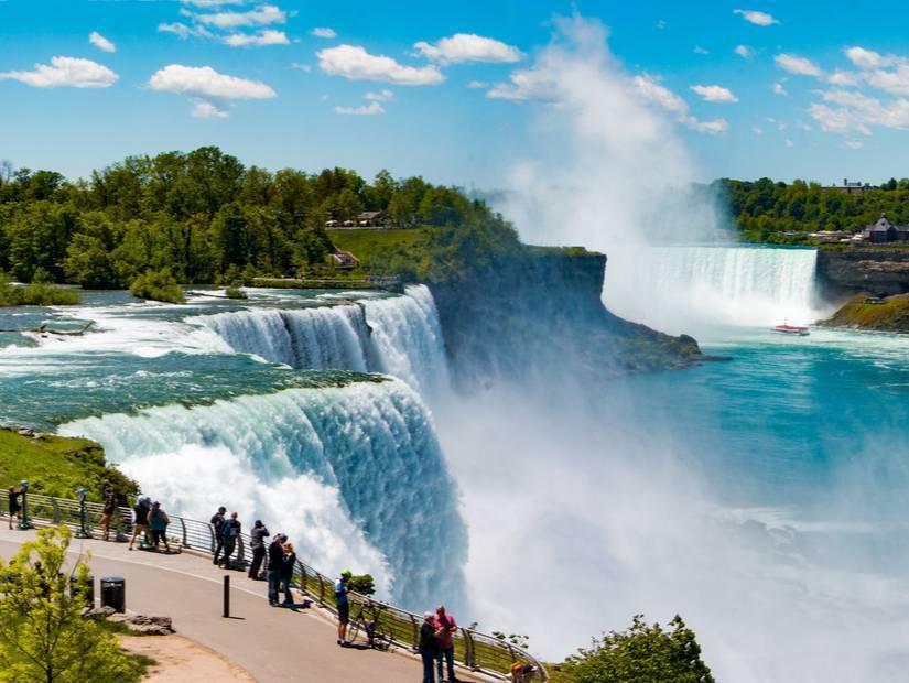 Niagara Şelaleleri'ni görmeden olmaz