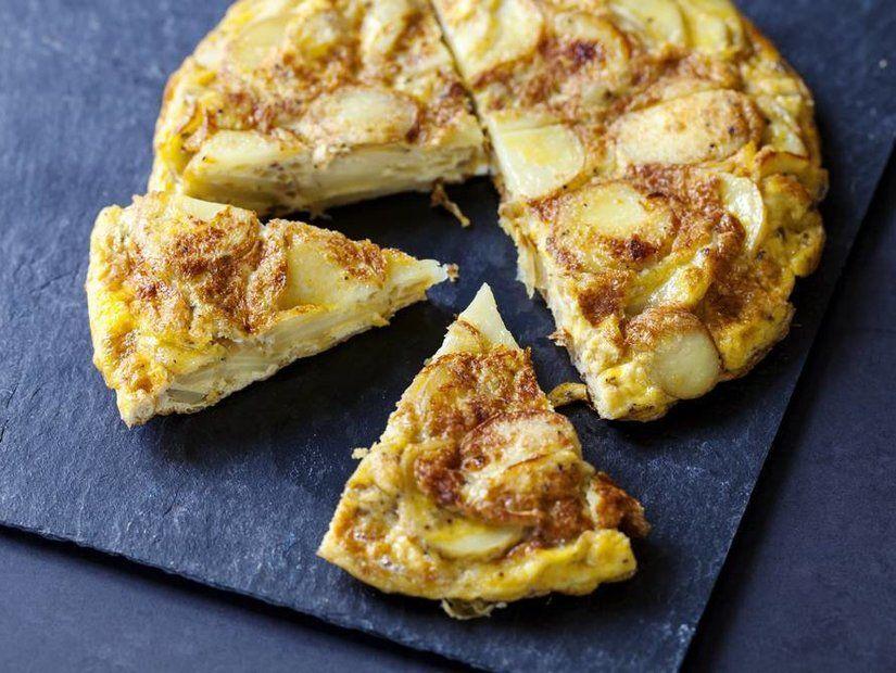 1- Güne İspanyol omletiyle başla
