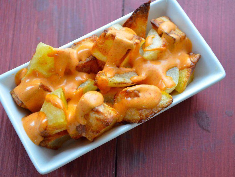 1- Patates aşkına: Patatas Bravas
