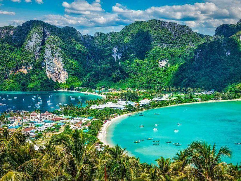 2- Phi Phi Adası – Tayland