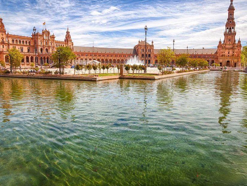 Sevilla gezisine Plaza Espana'dan başlayın