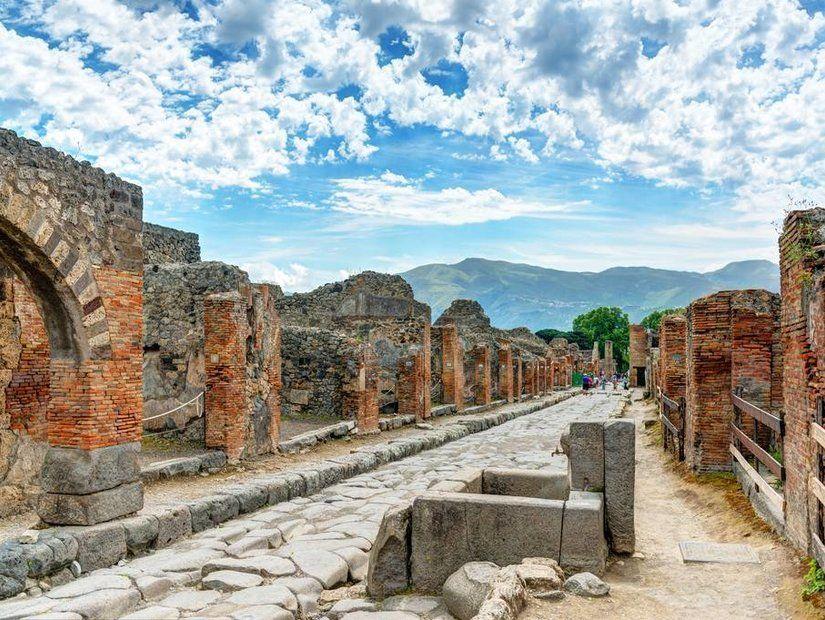 Capri Adası, Pompei Antik Kenti