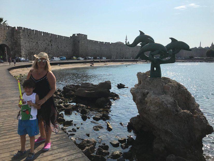 Rodos'ta Türk izleri