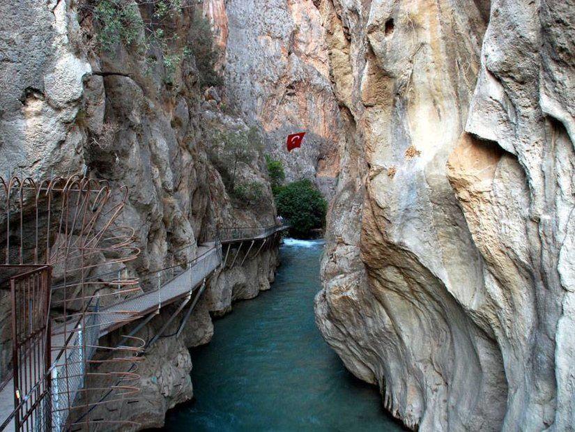 3-Saklıkent Kanyonu (Antalya)