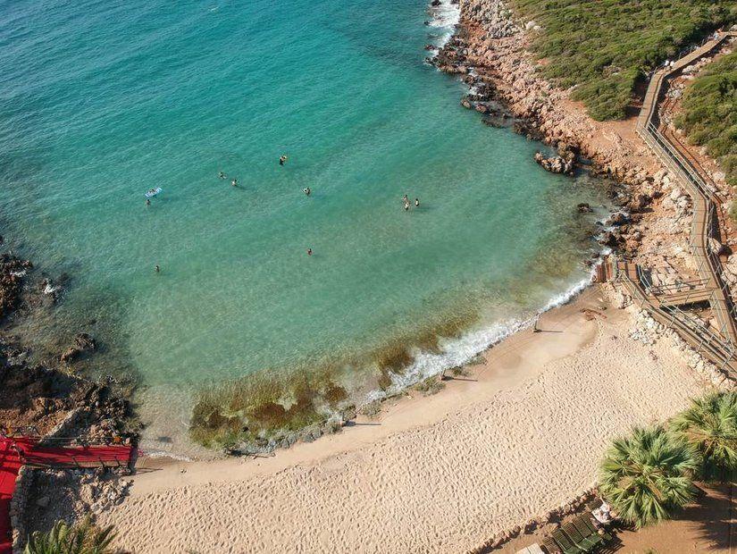 6- Kleopatra Plajı, Sedir Adası