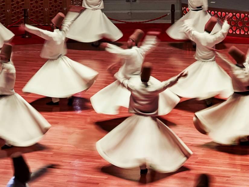 Konya'da Şeb-i Aruz'da Mevlana'yı anıyoruz