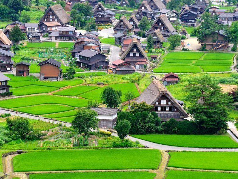 Shirakawa-go Köyü – Japonya