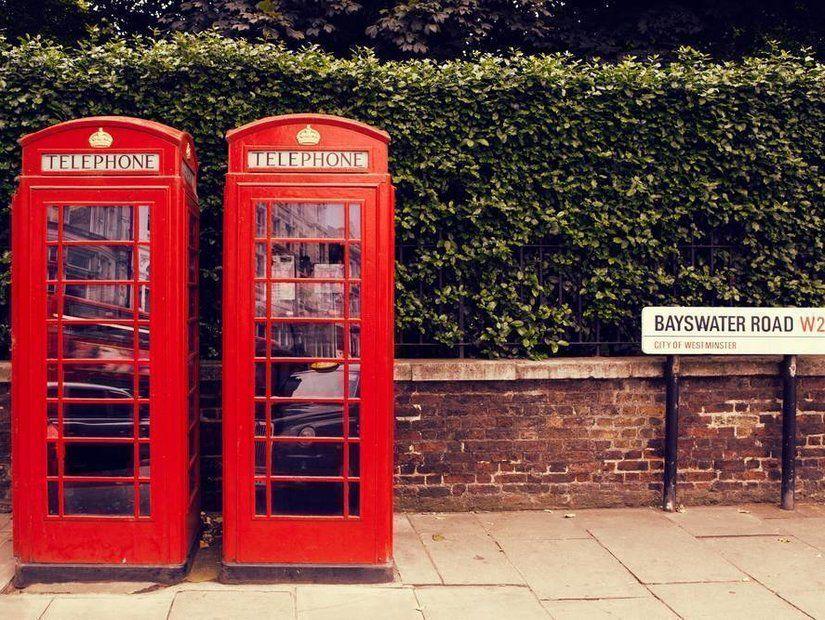 7- Londra'nın sembolü telefon kulübeleriyle fotoğraf