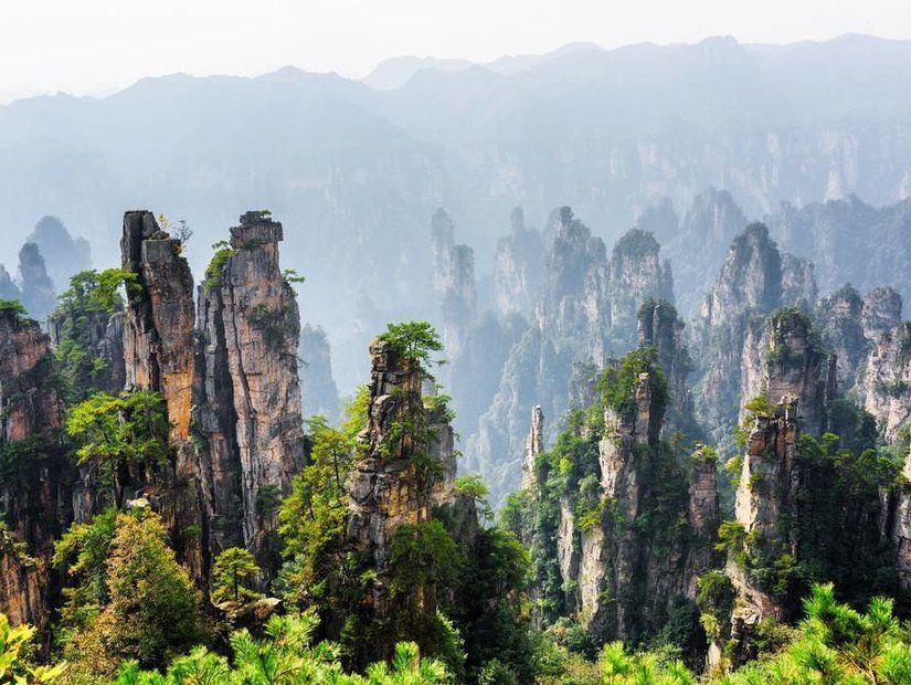 Tianzi Dağları – Çin