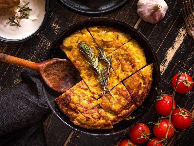 3- Yumurtanın en lezzetli hali: Tortilla de Patatas