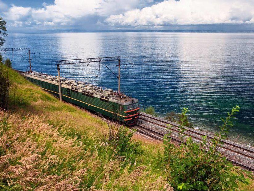 3- Trans Sibirya Demiryolu / Rusya