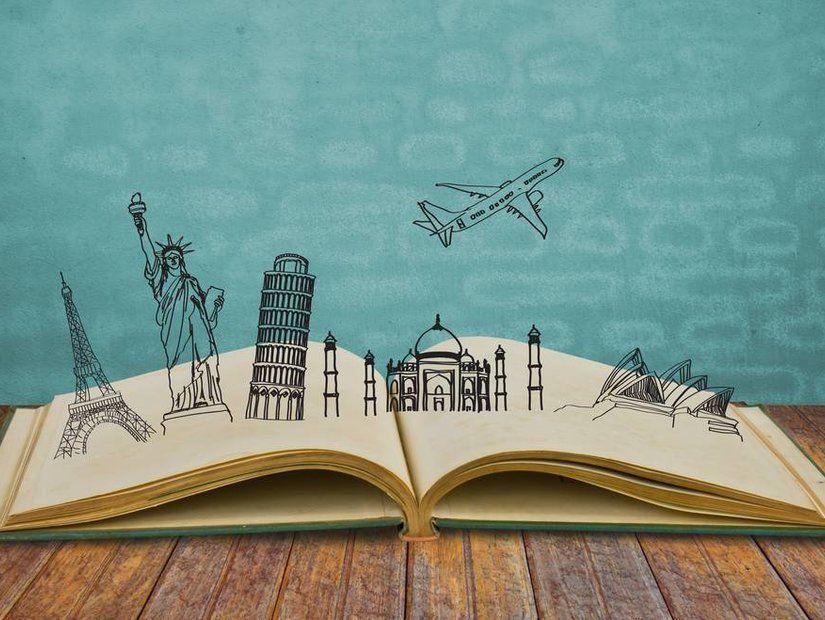 Kitap ve filmlerde seyahate yönel
