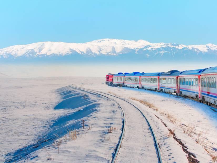 24 saatlik tren yolculuğu başlıyor