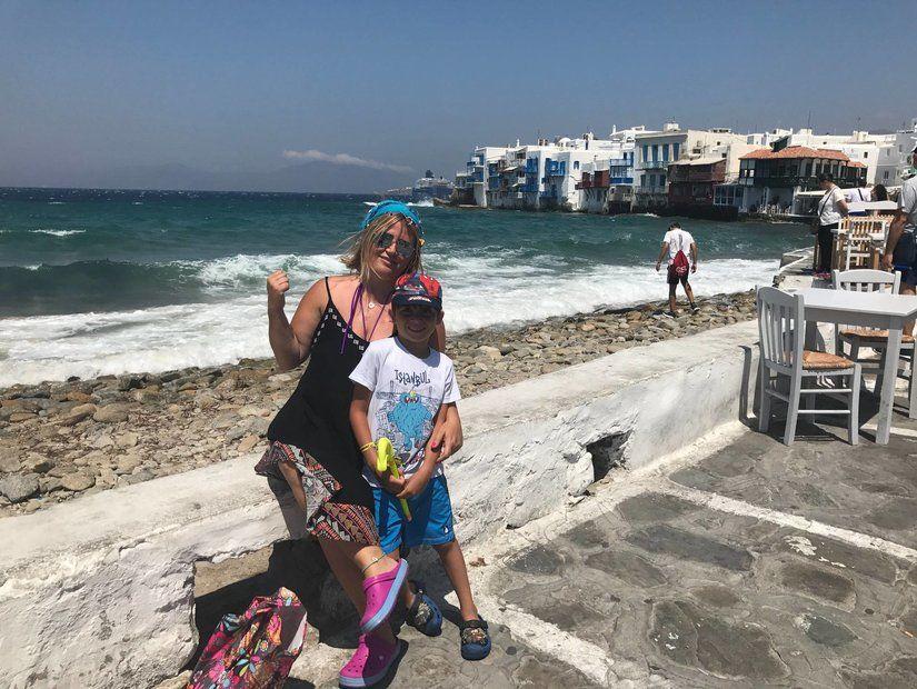 Çocuklular için plajlar çok uygun değil