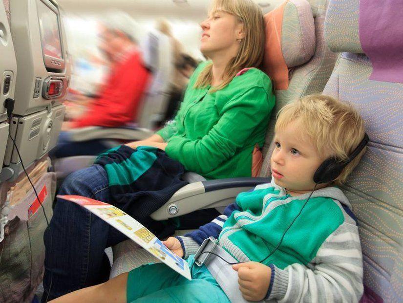 5- Çocuk bakımıyla meşgul eden yolcu