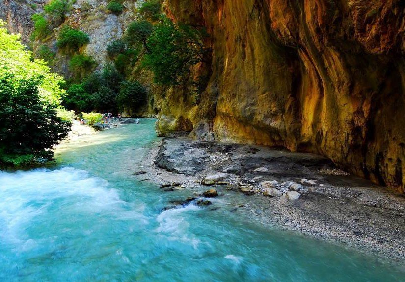 2-Fethiye Saklıkent Kanyonu: