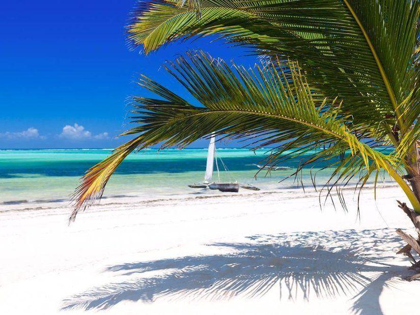 Beyaz kumuyla ünlü Zanzibar
