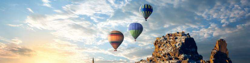 Balon ya da helikopter turu:
