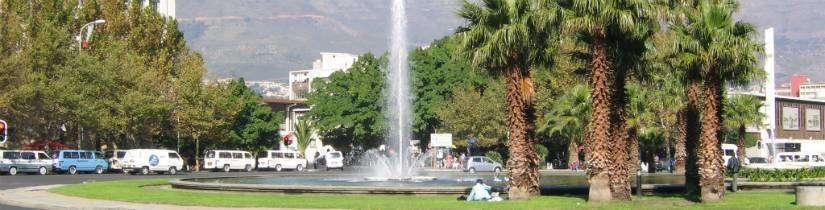 Afrika'da bir Avrupalı Cape Town