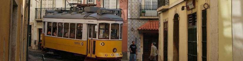 Tramvaylarla baştan başa Lizbon
