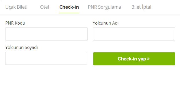 Enuygun üzerinden online check-in nasıl yapabilirim?