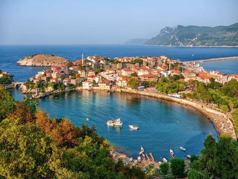 Karadeniz'in incisi Amasra