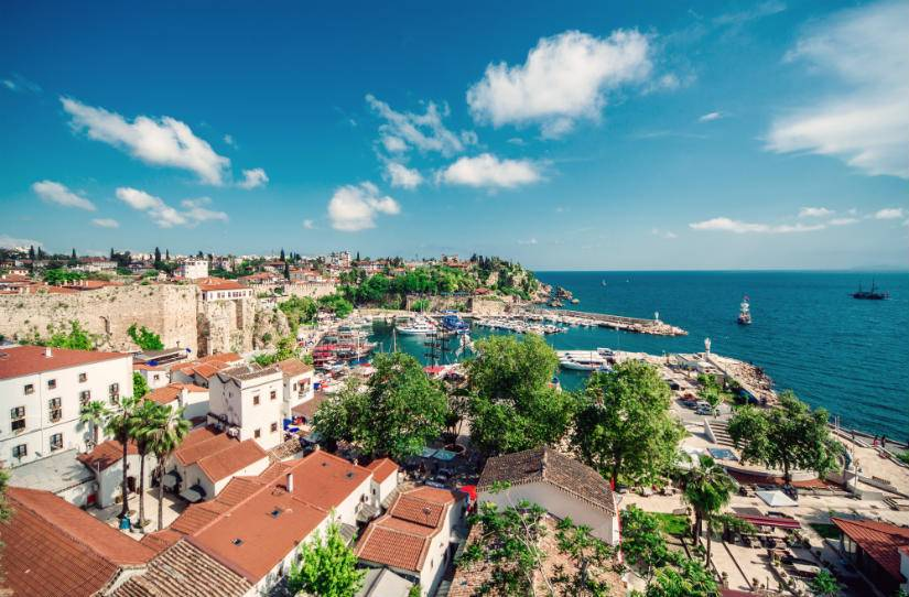 Antalya'dan direkt seferlerle Avrupa'ya