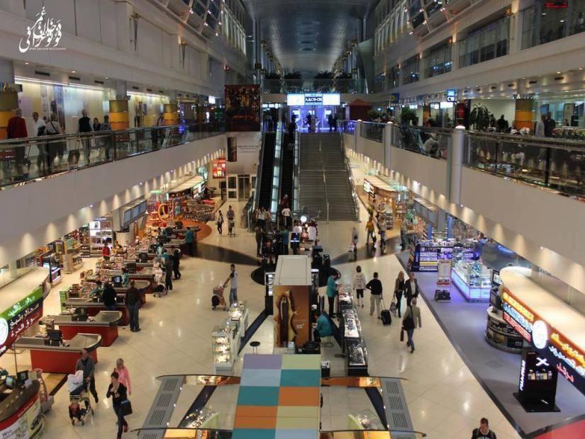 Çöl ortasında alışveriş için Dubai