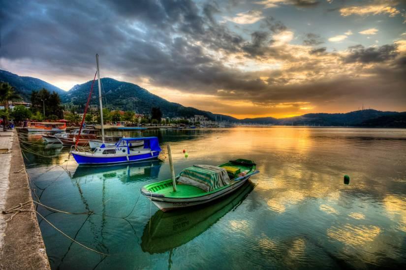 Kısa tatilin en iyisi Fethiye-Marmaris