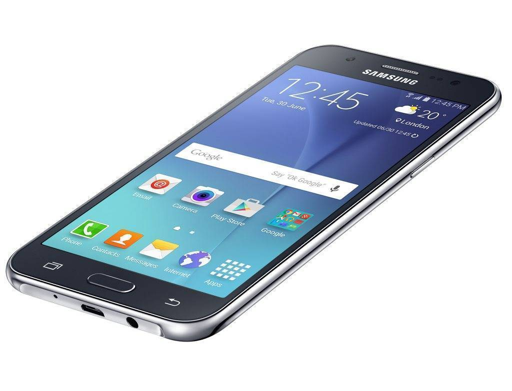 Galaxy J5 ekran