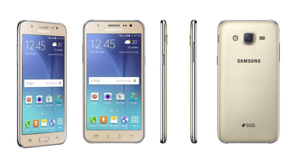 Galaxy J5 tasarım