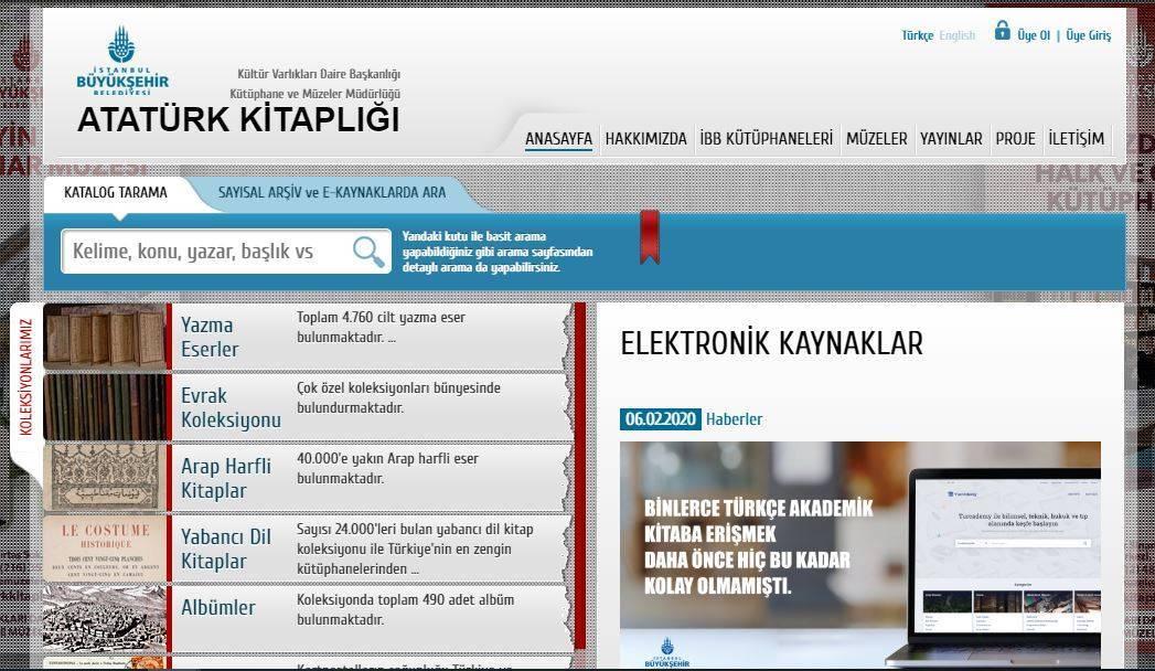 İBB Atatürk Kitaplığı