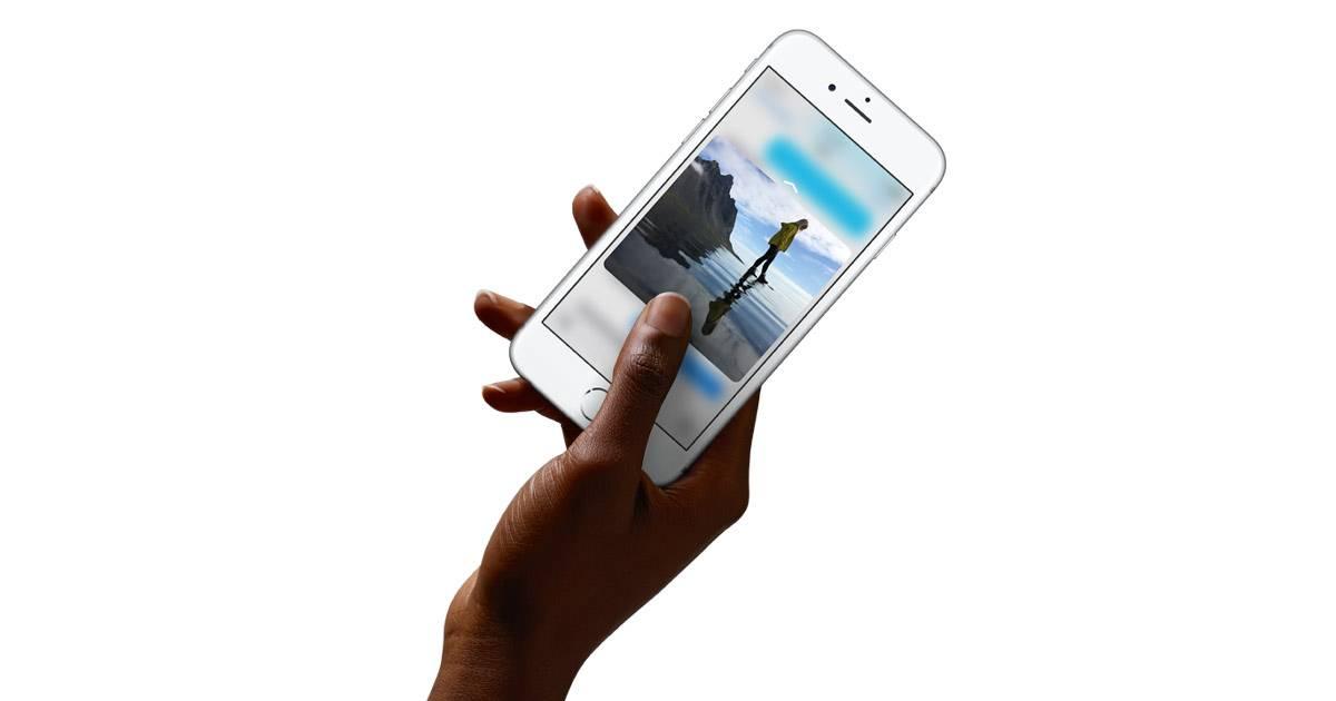 iphone 6s dokunmatik