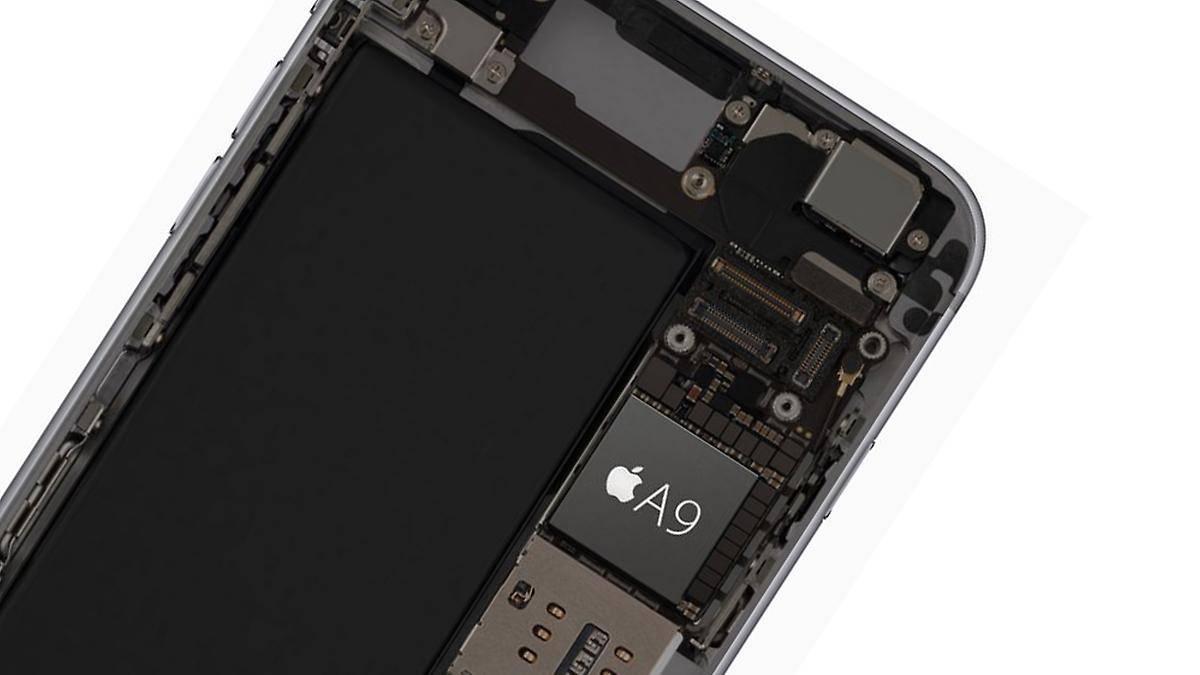 iPhone 6s işlemci