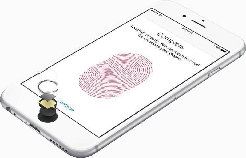 iphone 6s parmak izi tanıma