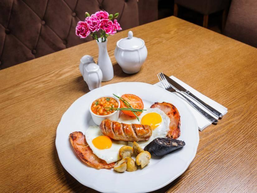 İngiltere de Kahvaltı