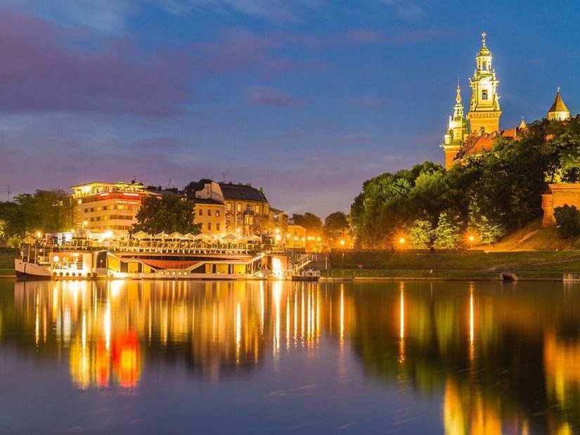 Polonya'nın kültür başkenti Krakow