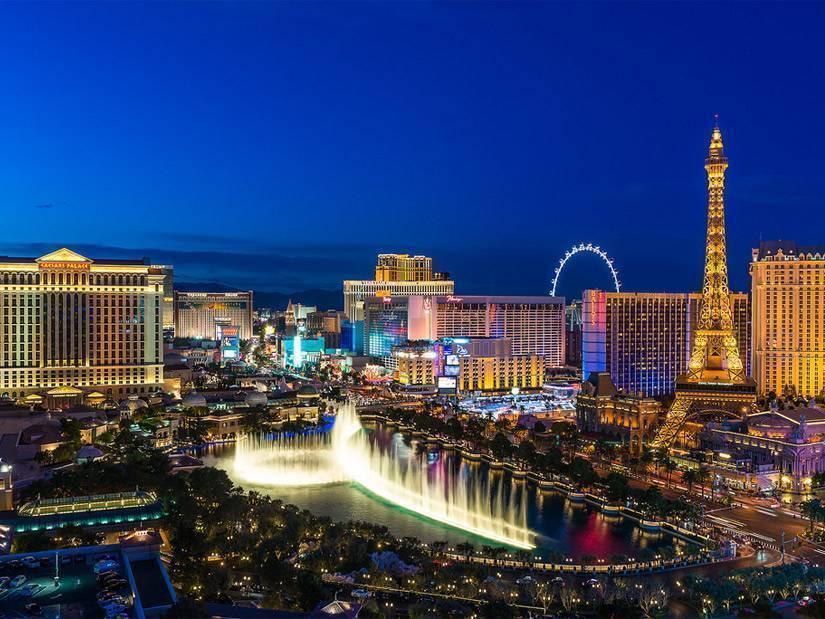 Çölün ortasında yükselen vaha Las Vegas