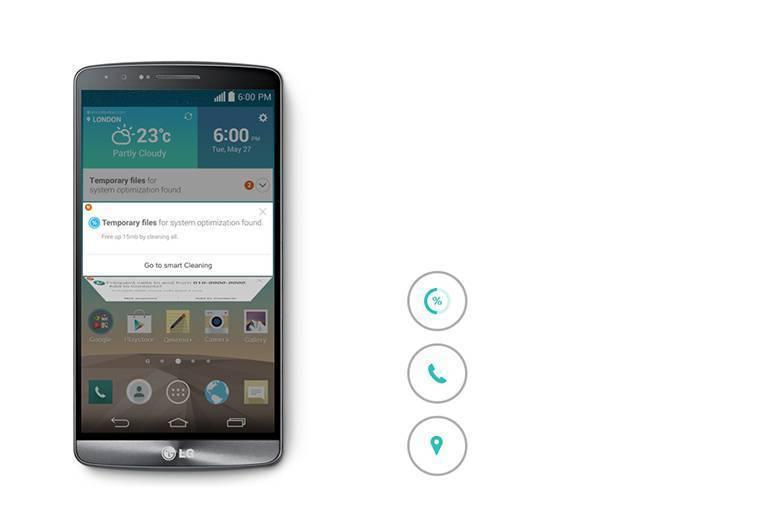 LG G3 Akıllı Uyarı