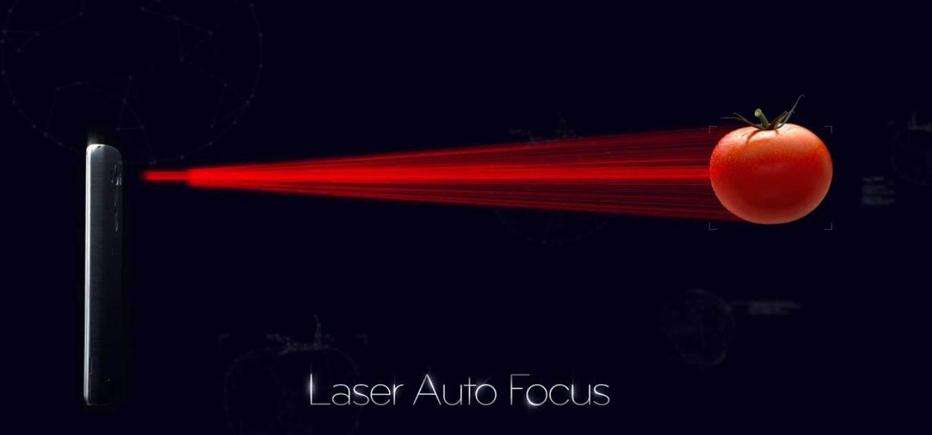 LG G3 lazer odaklama