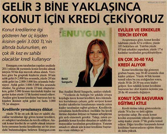 Milliyet Gazetesi Betül Sungurlu yazısı