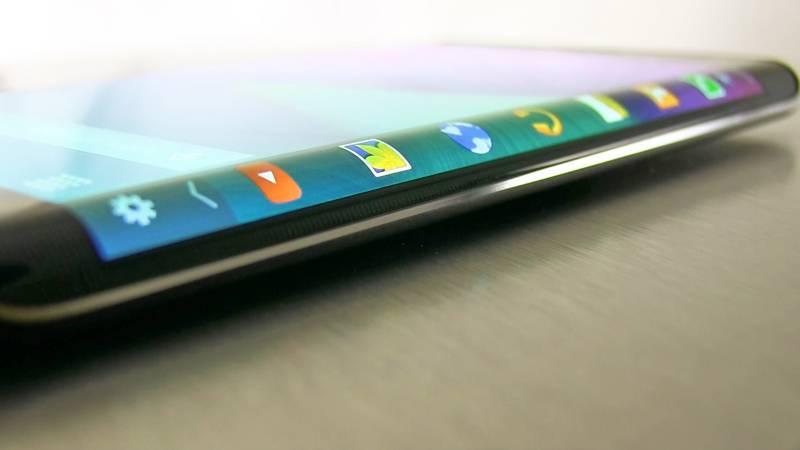 Galaxy note edge ekran