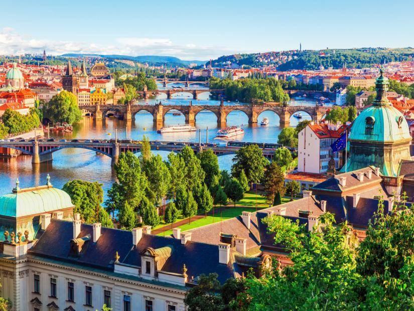 Bir Orta Çağ masalı Prag