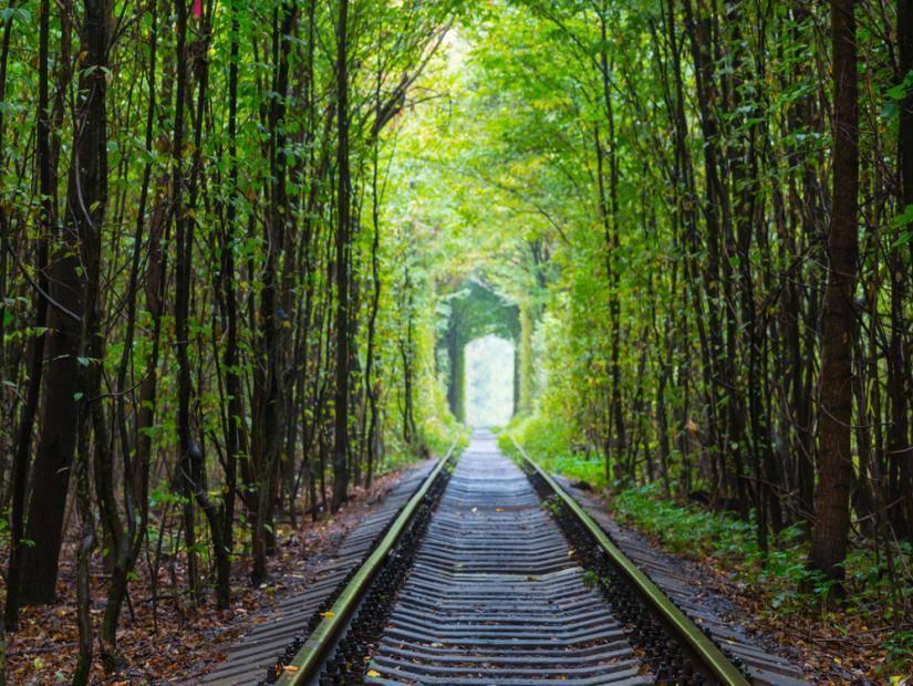 Ukrayna Aşıklar Tüneli